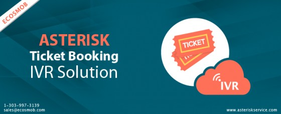 Asterisk Ticket Booking IVR Solution